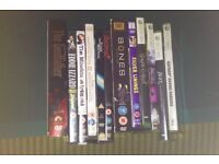 DVDs and Xbox 360 games £5
