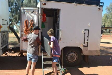 catering coach trailer as is or with all necessary equipment