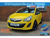 """"""""""" FINANCE AVAILABLE """""""" 2014 (64) Vauxhall Corsa Limited edition 1.2 Petrol"""