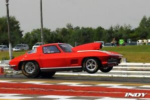 67 corvette Drag car