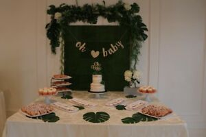 Green Backdrop for Special Events