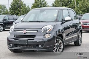 2015 FIAT 500L LOUNGE WITH LEATHER NAV ROOF!!