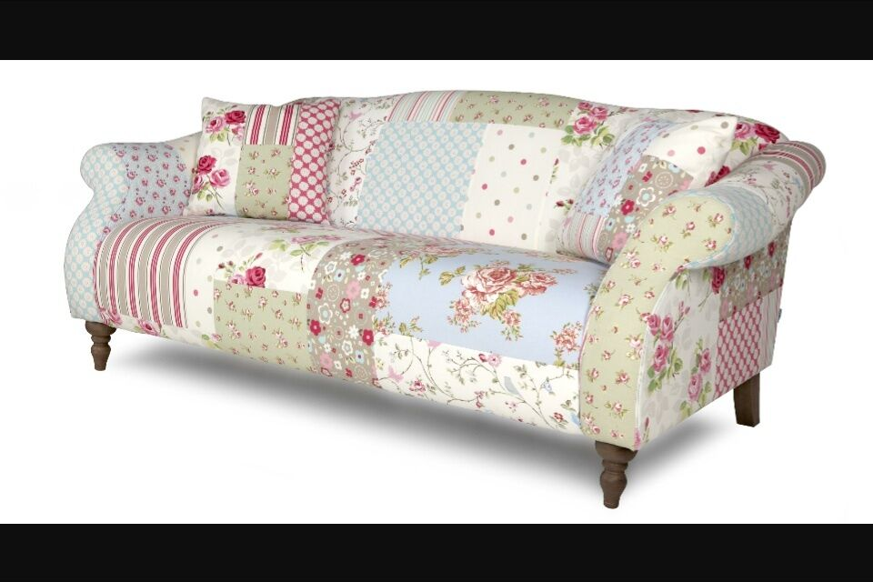 Dfs Patchwork Sofa Shabby Chic In Brundall Norfolk