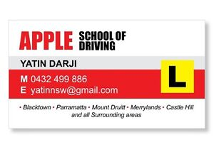 Driving School,Driving Lessons, Driving Instructor Blacktown Blacktown Area Preview