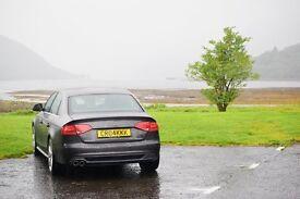 Audi A4 S-Line 2.0 TDI - 1/2 leather, xenons, 19's , FSH