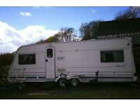 4 Berth, Twin Axel, Touring Caravan for Hire