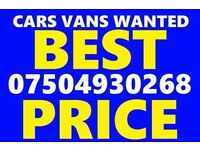 07504 930268 Cars vans motorcycle wanted scrap no mot cash today Ford