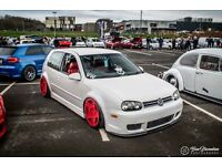 Volkswagen Golf GT TDi PD130 Air Ride Showcar Stanced Bagged R32 US **SWAP PX**