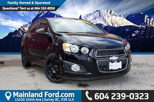 2012 Chevrolet Sonic LT ONE OWNER, LOCAL