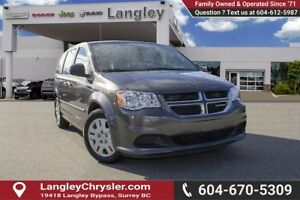 2017 Dodge Grand Caravan CVP/SXT <B>*LOCAL BC*</B>
