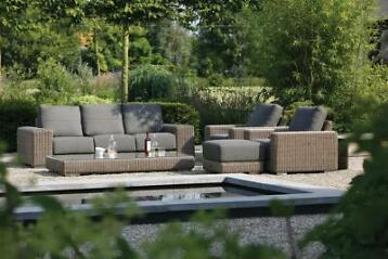 4 Seasons Outdoor | Loungeset Kingston | Pure (Tuinmeubelen)