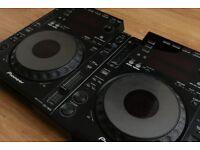 Pioneer DJM 800 & CDJ 900 Pair
