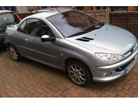 Peugeot 206 CC - Immaculate condition 55plate - Full 12 month MOT