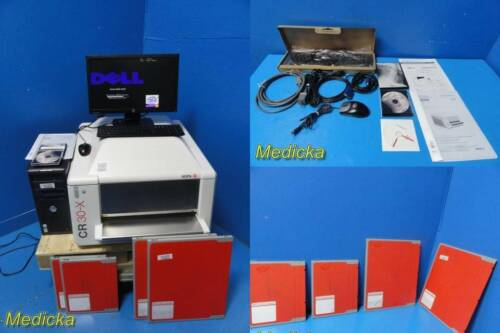 2007 AGFA CR30-X Type 5175/100 Digitizer W/ Dell CPU,Monitor,Cassettes,CDs~25401