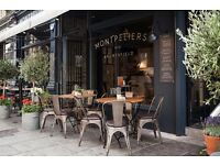 Full & Part time Waiting/Bar Opportunities at Montpeliers Of Bruntsfield