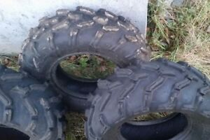 26x9r12 and one 26x8r12 tires, barely used