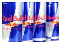 100x Red Bull Cans (250ml) RRP £135