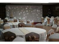 Wedding Starlit Backdrop With Twinkle Lights