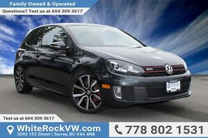 2013 Volkswagen Golf GTI 3-Door LOCAL CAR, EXCELLENT CONDITION