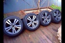 Commodore VF SS wheels tyres Bridgestone Potenza 245 45 18 NEW v8 Sv6 South Melbourne Port Phillip Preview