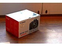 Canon 550d DSLR camera