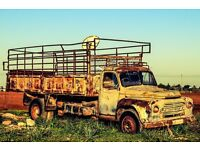 Cage Truck Driver 3 1/2 tonne transit.