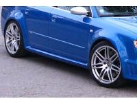 "Genuine Audi RS4 A4 B7 A3 S3 A6 S Line Le Mans 18"" Alloy Wheels, set of 4"
