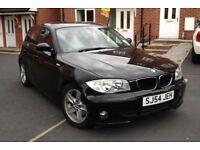 2005 BMW 1 SERIES 120D, 2.0 SPORT 170 BHP, 1 OWNER 2 KEYS, LEATHER SPORT SEATS, HPI CLEAR, Clean Car