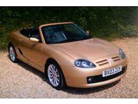 MG TF 1.8 160bhp.Low Mileage. £1400 OVNO