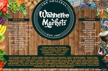 Wanneroo Markets - stalls and shops available for lease! North Perth Vincent Area Preview