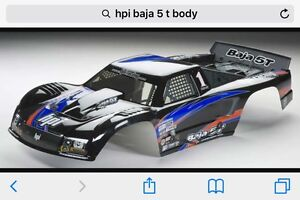 Wanted Hpi Baja 5t sc body not Losi Traxxas