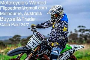 MOTORCYCLES WANTED CASH PAID 24/7 Taylors Hill Melton Area Preview