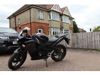 Honda CBR125R in excellent condition