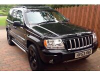 Jeep Grand Cherokee Limited 4.7 v8, AGS lpg converted