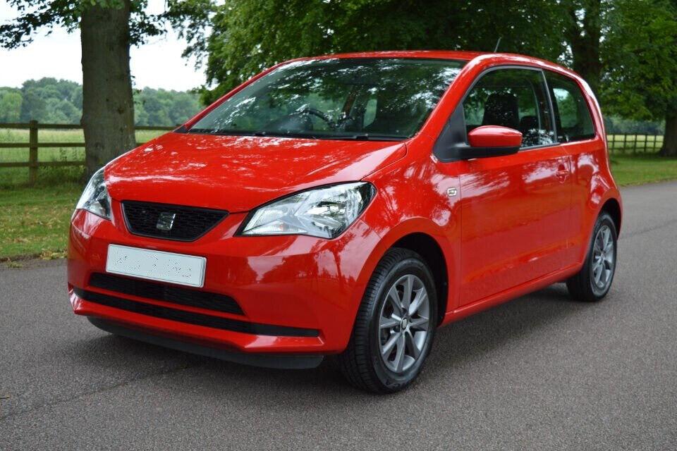 2015 Red Seat Mii Automatic 1 0 Semi Auto Vw Up Citigo In