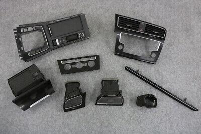 Blenden TCR Heckdiffusor schwarz gl/änzend 5G6807603041 5G6807604041