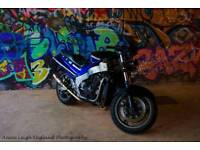 Kawasaki zzr1100 breaking