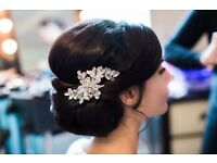 Bridal hair brooch