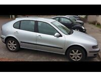 ***BARGAIN*** Silver Seat Leon with very low mileage with full service history