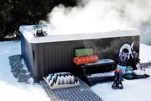 Don't Let The Cold Ruin Your Day! Heat Up Your Weekend With A New Hot Tub From World of Spas!!