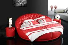 Fully Italian Leather bed Collection modern classic King or Queen Launceston Launceston Area Preview
