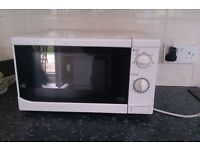 Microwave white good condition