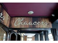 Social Night, Chaucers, 223-226 High Street, Exeter EX4 6RW