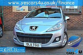"""""FINANCE AVAILABLE"""" 2011 (11) Peugeot 207, 12 Months MOT & 3 Months RAC warranty as standard!!"
