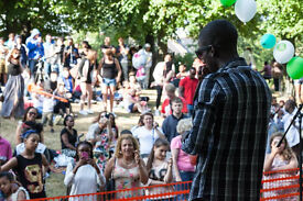 Bands and musicians required for Queens Park Summer Festival outdoor acoustic stage