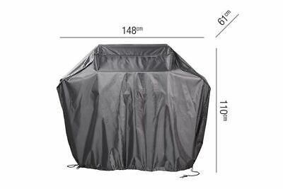 Grill-Schutzhülle 148 x 61 x 110 cm Außenküche Abdeckung Smoker AeroCover L