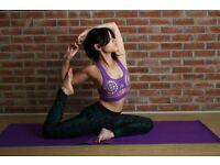 yoga class, East London, Bow