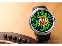 Lemfo 16gb rom 1gb ram smartwatch