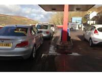 hand car wash Business for sale in weals, old petrol garage, long least