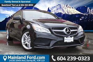 2014 Mercedes-Benz E-Class Base LOCAL, NO ACCIDENTS, LOW KM'S